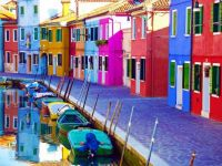 Colorful Burano Italy