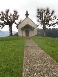 Small church, Bulle, Switzerland
