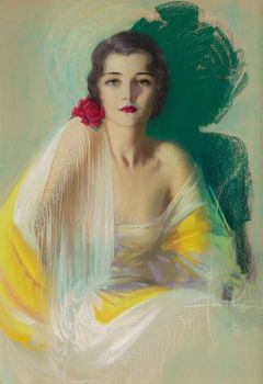 Rolf Armstrong 1889-1960  American Pin-up painter
