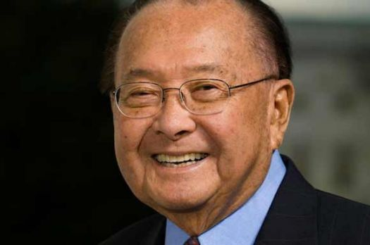 Daniel Inouye, 1st Japanese-American elected to US House and US Senate