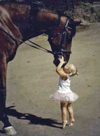 Mighty Horse Breathe-Kissing Tippy-Toes Tutu Grl