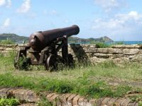 Canon at Fort James Antigua