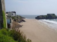 Beach at Tenby