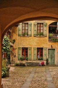 Courtyard, Sessa, Switzerland