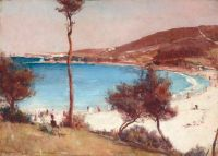 Tom Roberts Holiday sketch at Coogee 1888