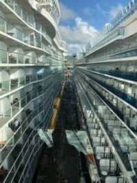 Symphony of the Seas and Crown Princess