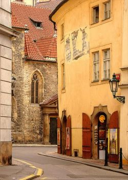 lonely street Prague