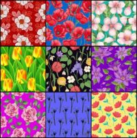 Flower patterns 103