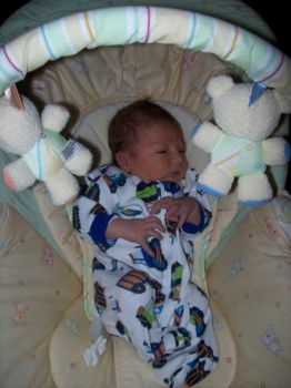 My grandson William 5 days old