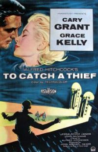 TO CATCH A THIEF - 1955 POSTER - CARY GRANT & GRACE KELLY