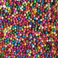 pile of beads