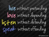 live love listen