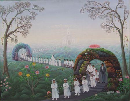 By Haitian artist Mario Montilus