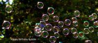 Happy Birthday Bubble