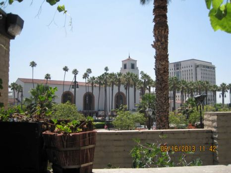 Union Station in Los Angeles, CA