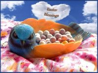 Bluebird Blessings at  Easter (Small)