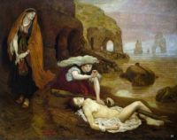 Ford Madox Brown, Finding of Don Juan by Haidee (1869–1878)