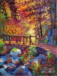 Stone Bridge at Royal Gardens by Donald Lloyd Glover