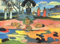 Gauguin's Mahana no Atua [Day of God] (1894)
