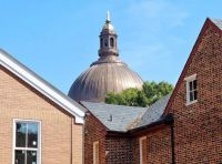 USNA Chapel Dome over Old Annapolis