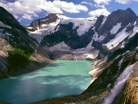 lake of the hanging glaciers