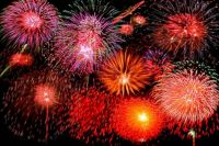 Theme: Happy New Year - New Years Eve Fireworks