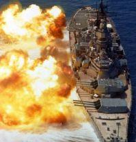 USS Iowa (BB-61) broadside