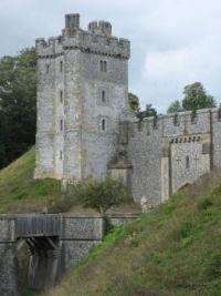 Arundel Castle moat