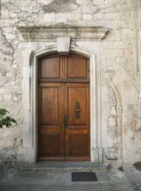 Another old door in Viviers France