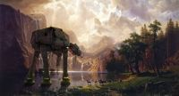 AT-AT Among the Sierra Nevada mountains
