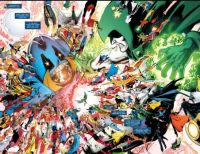 CRISIS ON INFINITE EARTHS--Anti-Monitor vs The Spectre !
