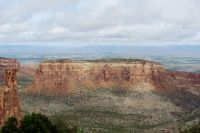View Of Grand Valley From Colorado National Monument