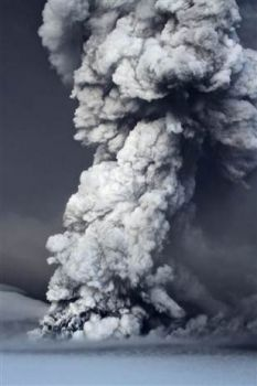 blask of ash from latest Iceland volcano
