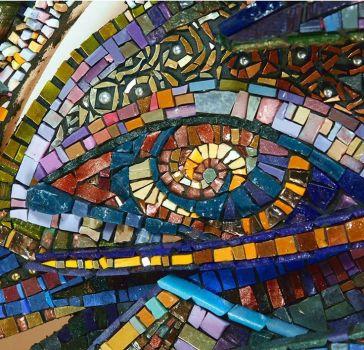 Contemporary Glass Mosaic
