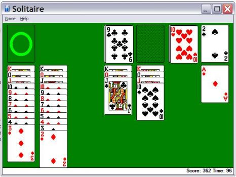 Solitaire win