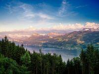 Dusk at Lake Zurich