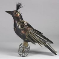 Theme-birds Steampunk bird