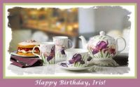 Tea Time for Iris's Special Day ☺