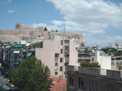 View of Acropolis, Athens