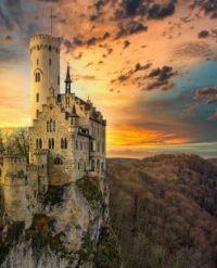 Schloss Lichtenstein, Germany  6018