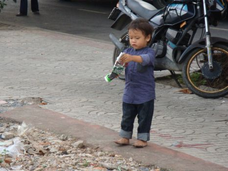 Little Thai boy...