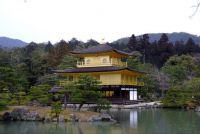 Gold Temple in Kyoto