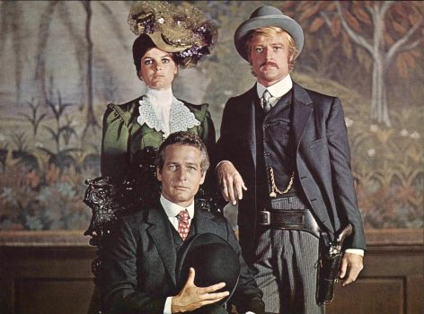 BUTCH CASSIDY & THE SUNDANCE KID  PAUL NEWMAN, ROBERT REDFORD & KATHARINE ROSS - 1969