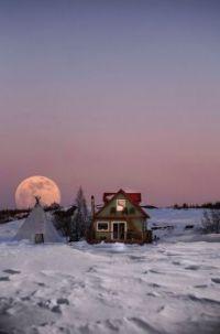 Moonlight on Yellowknife Bay Robbie Craig