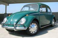Jade Green '66 Beetle