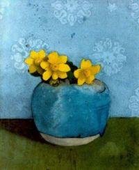 Jan Voerman Buttercups in a pot
