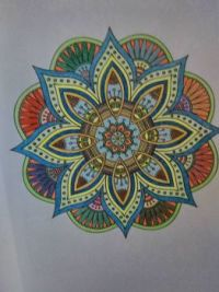 Coloring book fun....
