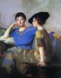 Edmund Tarbell, The Sisters (1921)