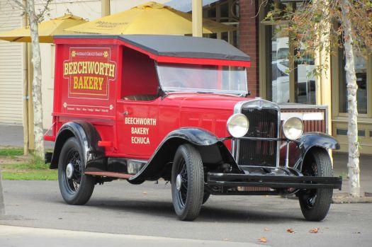 Old bakery van.