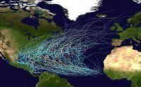 Twenty-five Years of Atlantic Tropical Storm Tracks